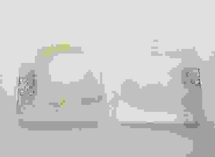 ツギハギ角皿: 吉村桂子が手掛けた現代のです。,モダン