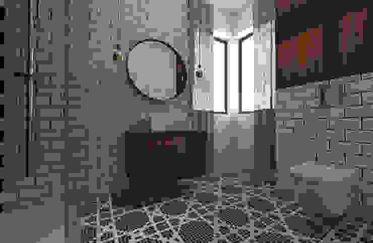 Dwie łazienki Klasyczna łazienka od Sic! Zuzanna Dziurawiec Klasyczny Drewno O efekcie drewna