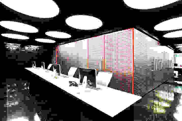 Oficinas Corporativas Abanto Capital Oficinas de estilo moderno de Tragaluz Estudio de Arquitectura Moderno