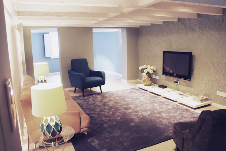 Casa de Godinho: Salas de estar  por GRAU.ZERO Arquitectura