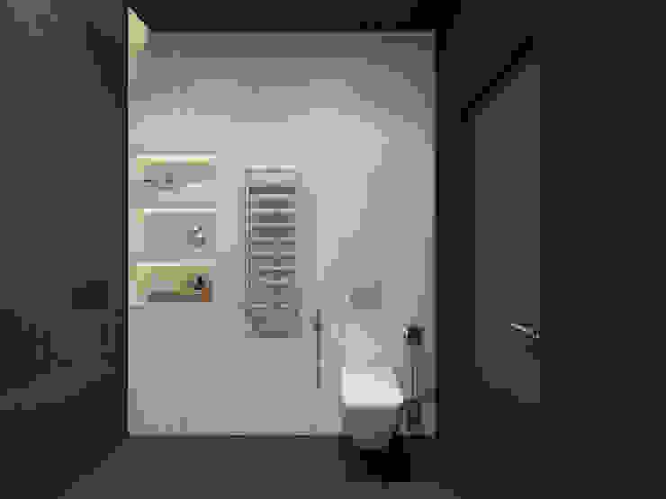 Визуализация ванной комнаты. Ванная комната в стиле минимализм от Aleksandra Kostyuchkova Минимализм