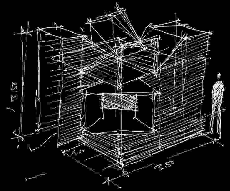 La Cabaña. Pabellón de Arquitectura Casas modernas de Tragaluz Estudio de Arquitectura Moderno