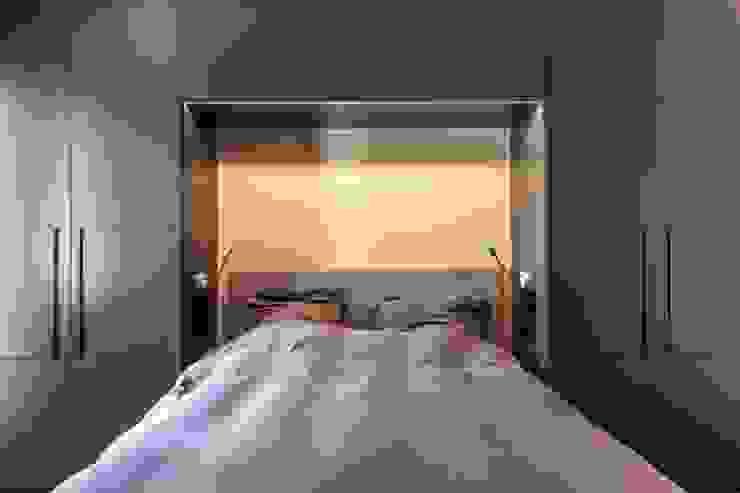 projet 3 Chambre moderne par Pierre Noirhomme Moderne