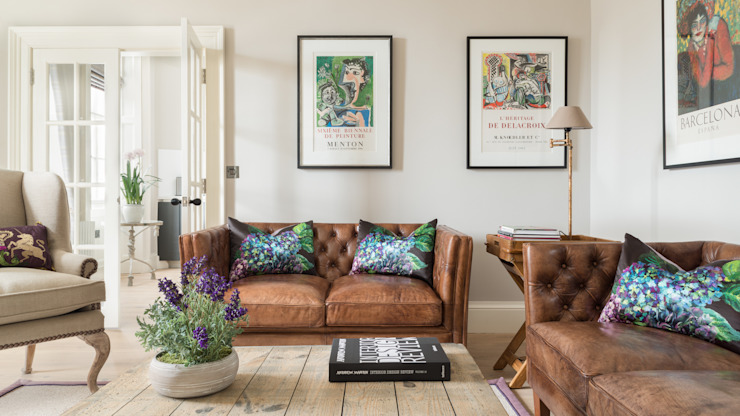 Livingroom Modern living room by homify Modern