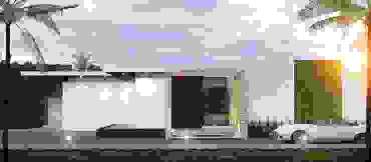 CASA PR de 12.20 Estudio de Arquitectura Moderno Piedra