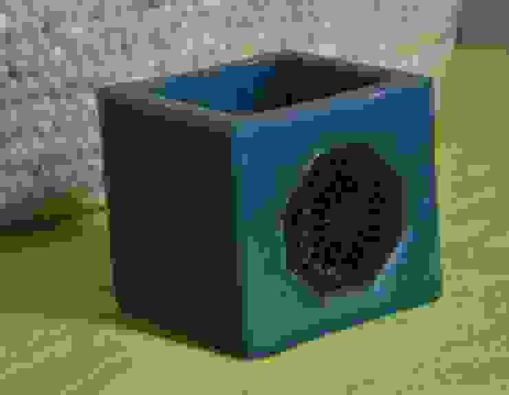 Vela con motivos geométricos Dunia Hania HogarArtículos para el hogar