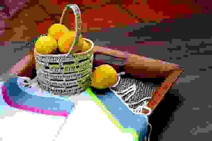 2 paños de algodón con franjas Dunia Hania HogarDecoración y accesorios