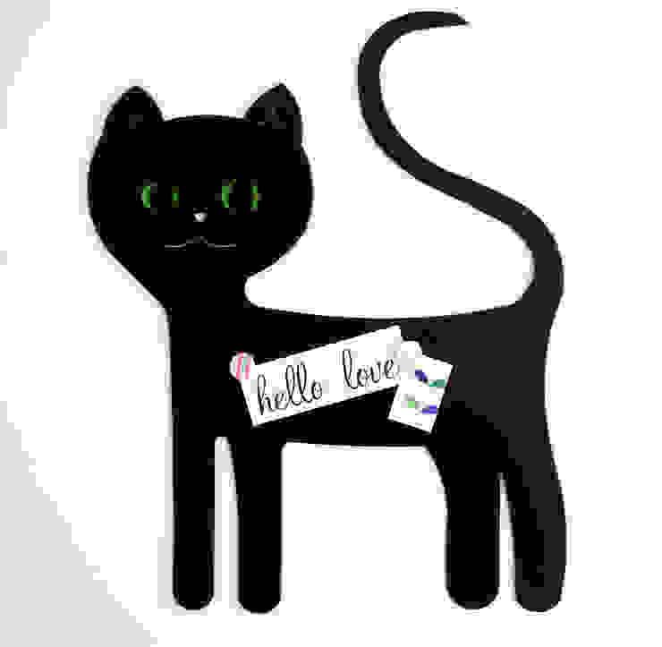 Gato Negro de Kalma & Violeta Escandinavo Metal
