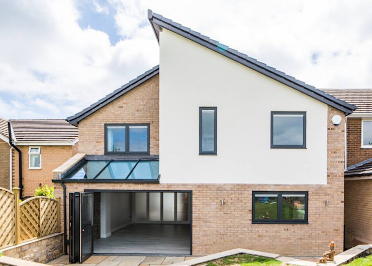 House 2 Modern houses by Whitshaw Builders LTD Modern Glass