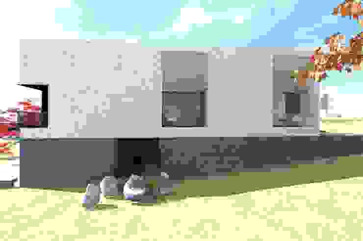 Casa J Casas minimalistas por Colectivo de Melhoramentos Minimalista