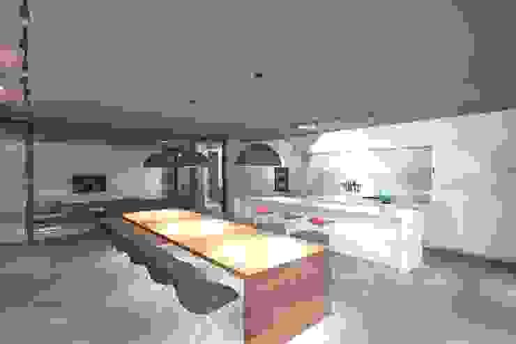 Casa ZL Cozinhas minimalistas por Colectivo de Melhoramentos Minimalista