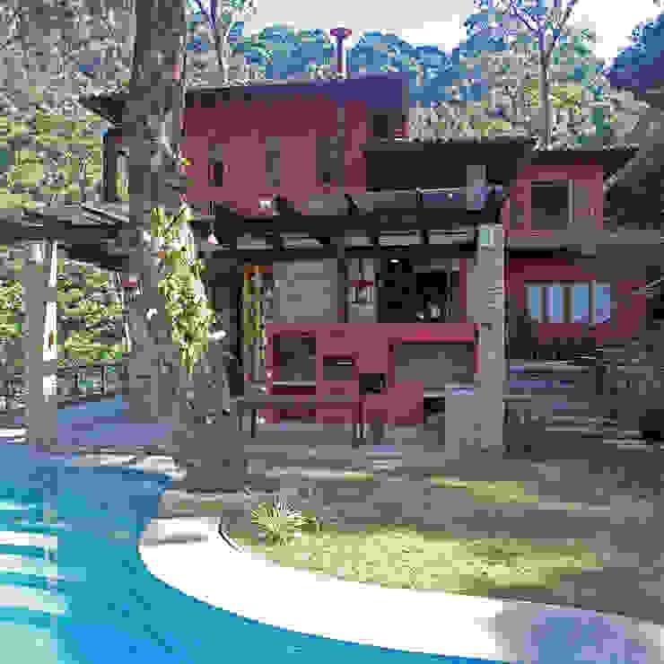 FACHADA por Maria Claudia Faro Tropical Pedra
