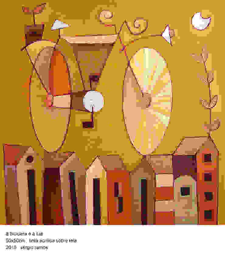 A Bicicleta e a Lua por Sérgio Ramos Atelier e Galeria de Arte Moderno