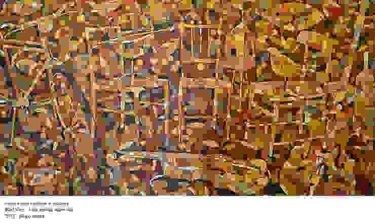 Música para Cadeiras e Bicicleta por Sérgio Ramos Atelier e Galeria de Arte Moderno