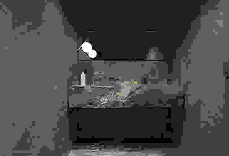 Łazienki Nowoczesna łazienka od Katarzyna Kraszewska Architektura Wnętrz Nowoczesny