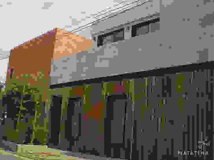 Fachada Principal Casas modernas de Matatena Arquitectura Moderno