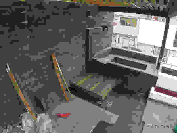 Roof Garden-Jacuzzi Balcones y terrazas modernos de Matatena Arquitectura Moderno