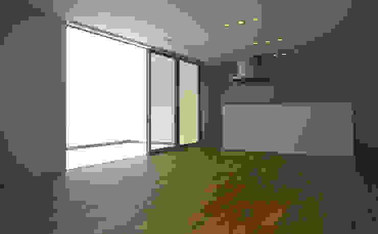 ダイニング・キッチン オリジナルな 家 の design office ON オリジナル
