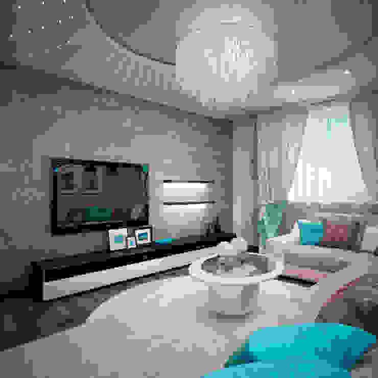 Гостиная Гостиная в стиле минимализм от 35KVADRATOV Минимализм