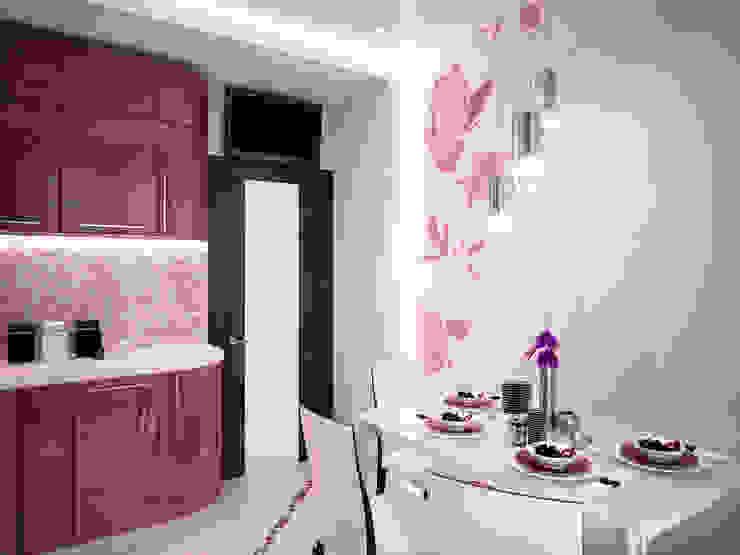 Квартира в ЖК Созвездие Кухня в стиле минимализм от 35KVADRATOV Минимализм