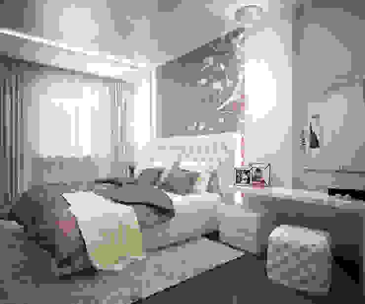 Квартира в ЖК Созвездие Спальня в классическом стиле от 35KVADRATOV Классический