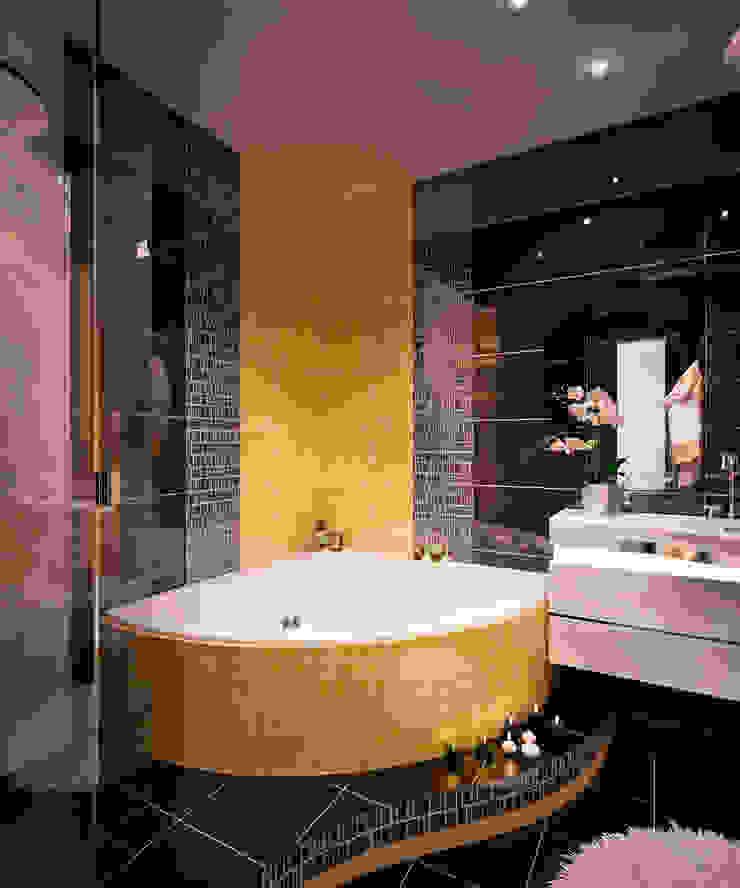 Квартира в ЖК Созвездие Ванная комната в стиле минимализм от 35KVADRATOV Минимализм