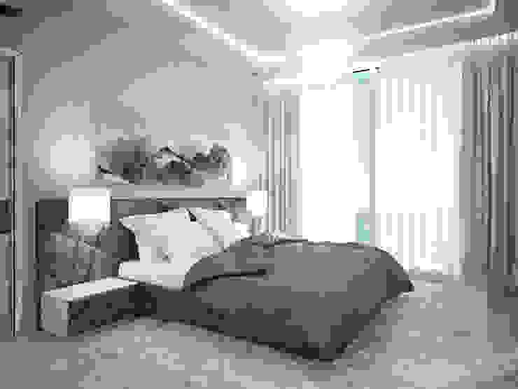Спальня Спальня в стиле минимализм от 35KVADRATOV Минимализм