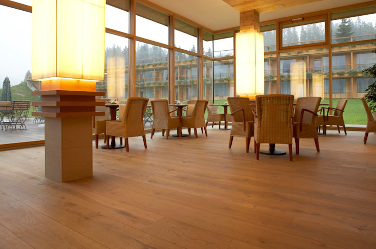 Hotel Das Kranzbach Classic hotels by Dennebos Flooring BV Classic Wood Wood effect
