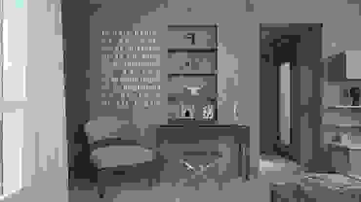Ristrutturazione Appartamento Privato Pardo Gaetano Architetto Ingresso, Corridoio & Scale in stile moderno