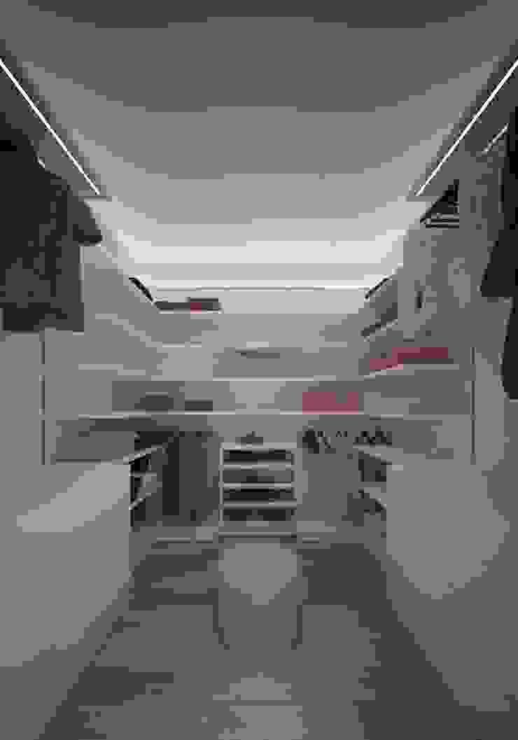 Ristrutturazione Appartamento Privato Pardo Gaetano Architetto Spogliatoio moderno