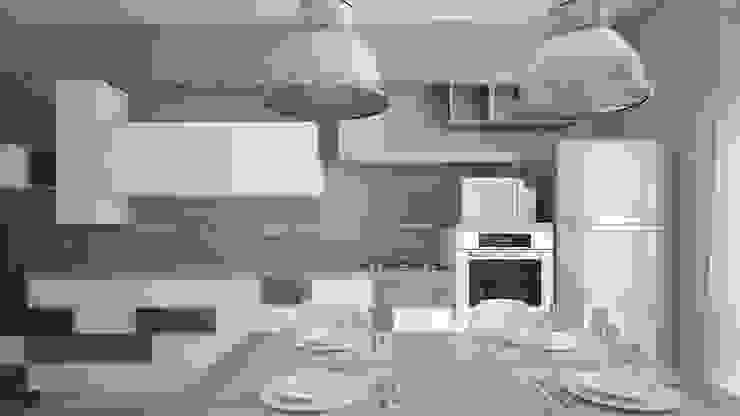 Ristrutturazione Appartamento Privato Pardo Gaetano Architetto Cucina moderna