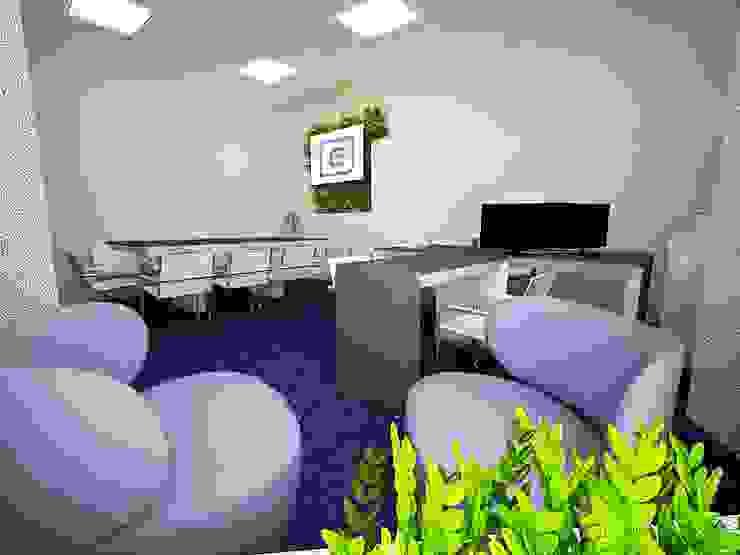 Дизайн-проект офисного пространства для коммерческой фирмы от ООО 'Бастет' Минимализм