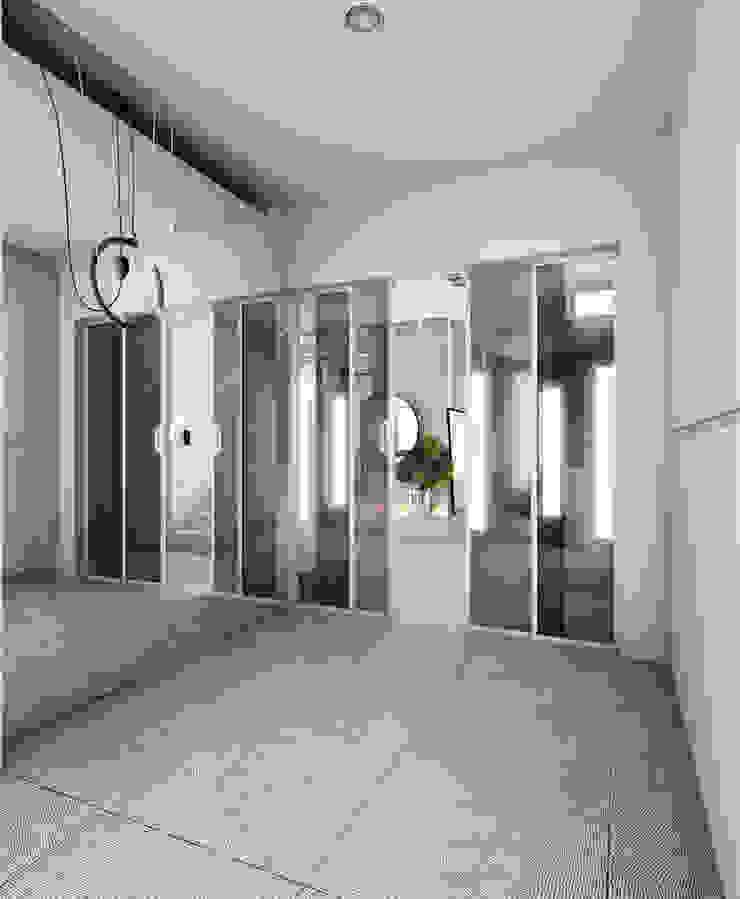 モダンスタイルの 玄関&廊下&階段 の A2.STUDIO PRACOWNIA ARCHITEKTURY モダン