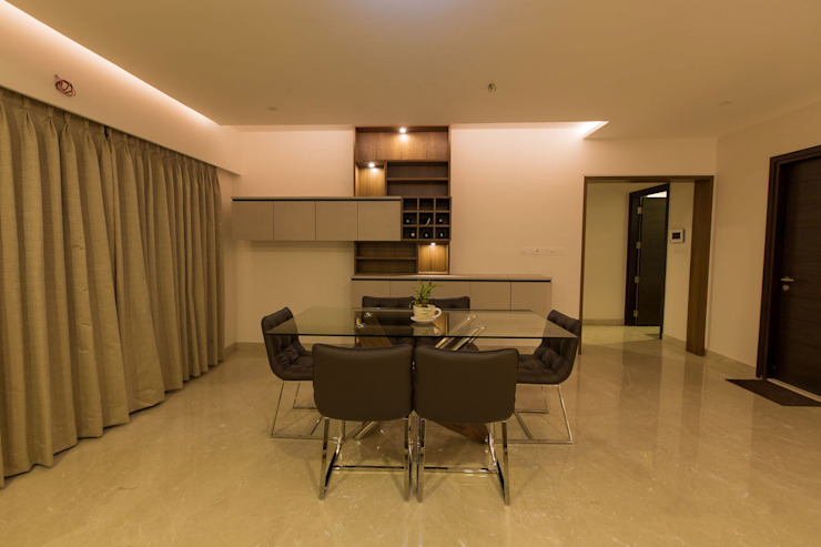 Apartment Interiors Modern dining room by Studio Stimulus Modern
