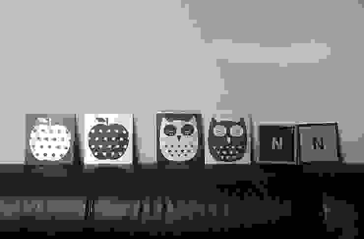DIY 매탈액자 만들기 : alsatang의  벽 & 바닥