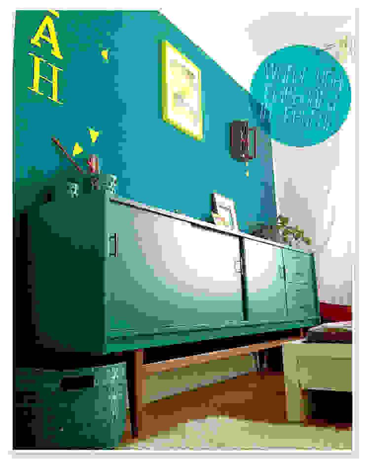 LYBSTES. BedroomWardrobes & closets Kayu Turquoise