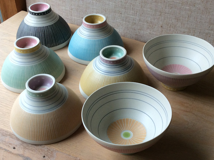dear Lucie ごはん茶碗 bowl: 器GALLERIAが手掛けた折衷的なです。,オリジナル 磁器