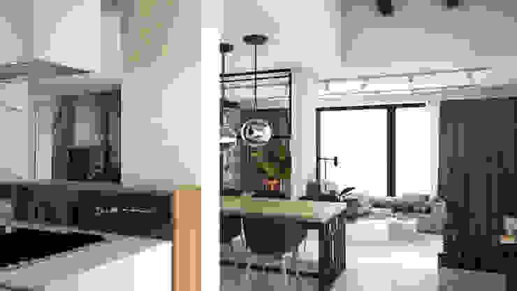 Modern Dining Room by A2.STUDIO PRACOWNIA ARCHITEKTURY Modern