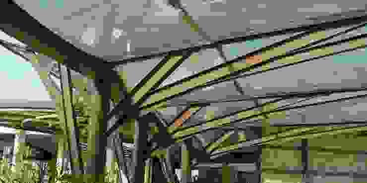 Karst, Lda Eclectic style garage/shed