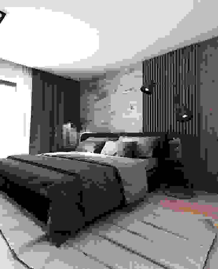 Modern Bedroom by A2.STUDIO PRACOWNIA ARCHITEKTURY Modern