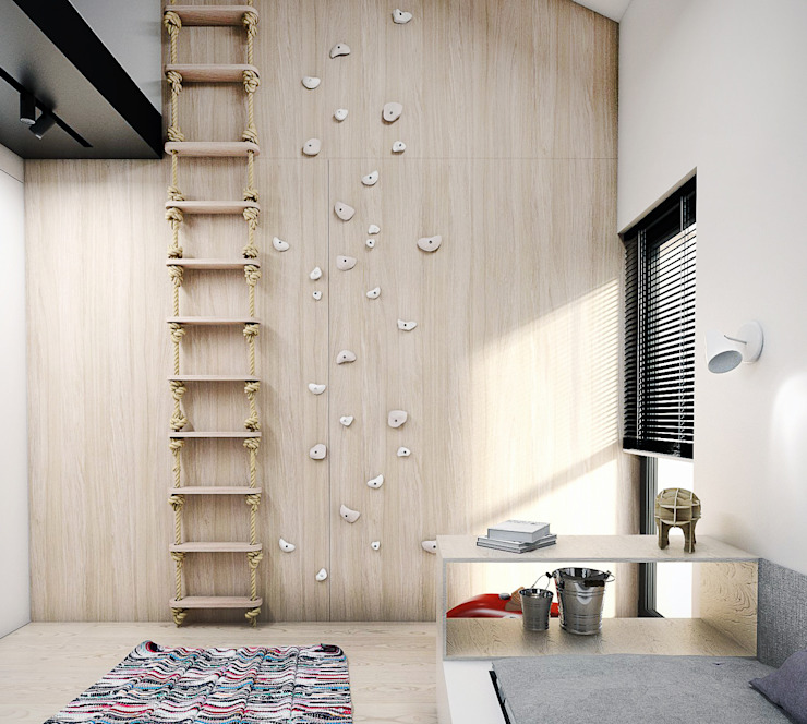 Modern Kid's Room by A2.STUDIO PRACOWNIA ARCHITEKTURY Modern