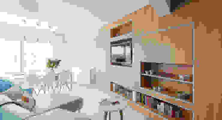 De Clercq + Declercq Scandinavian style living room
