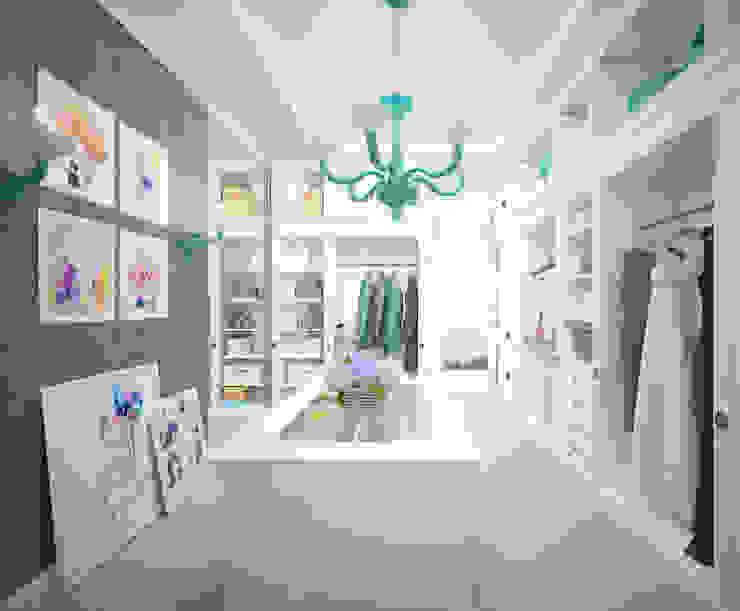 """Гардеробная """"Lilac"""" Гардеробная в классическом стиле от Студия дизайна Дарьи Одарюк Классический"""