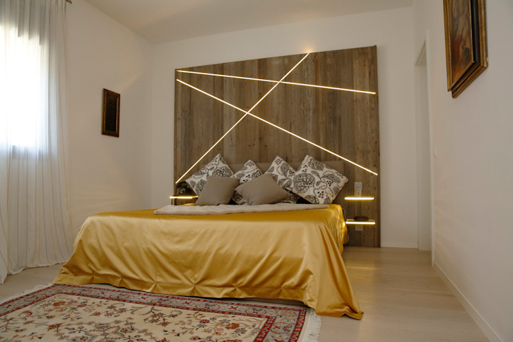 غرفة نوم تنفيذ DF Design, حداثي