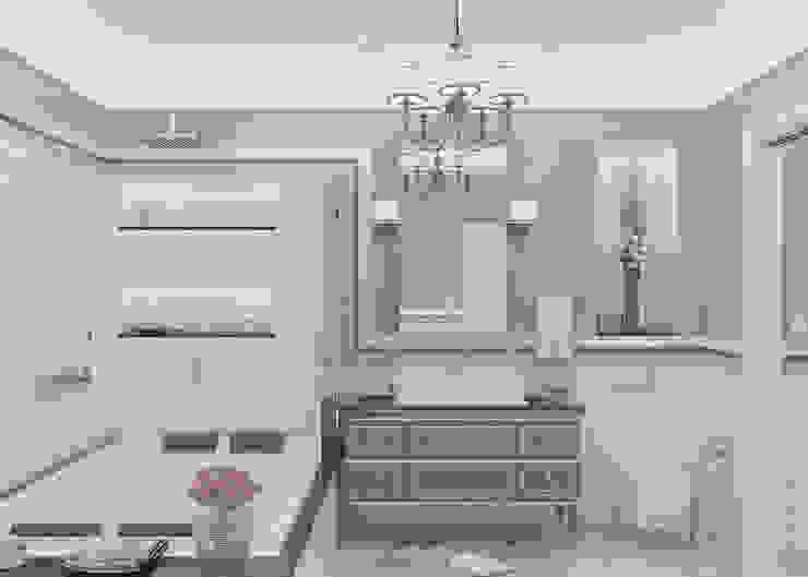 """Ванная комната """"Pattern"""" Ванная в классическом стиле от Студия дизайна Дарьи Одарюк Классический"""