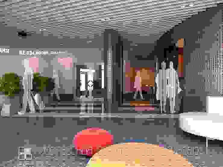интерьер аэропорта во Владикавказе Аэропорты в стиле модерн от Мастерская архитектора Аликова Модерн