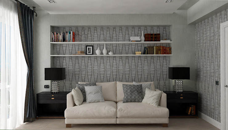 """Кабинет """"Delicate Chic"""" vol. 1 Рабочий кабинет в классическом стиле от Студия дизайна Дарьи Одарюк Классический"""