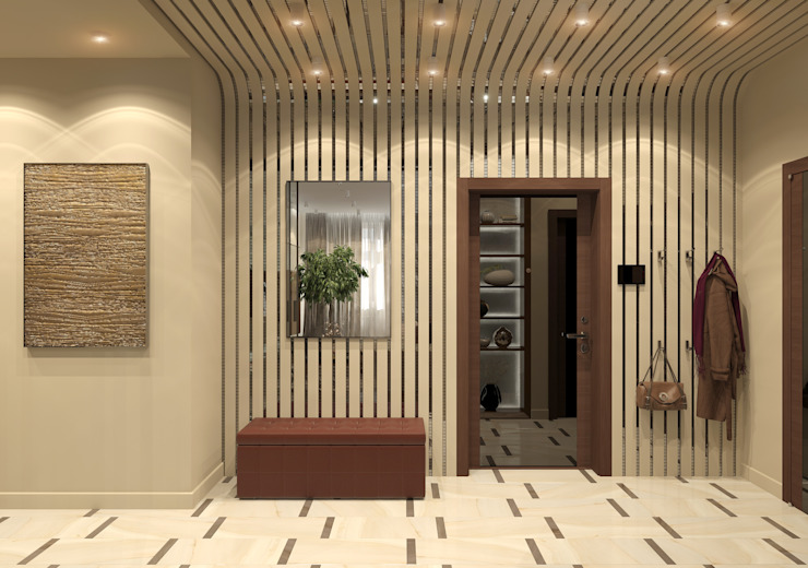 Modern Corridor, Hallway and Staircase by Aledoconcept Modern
