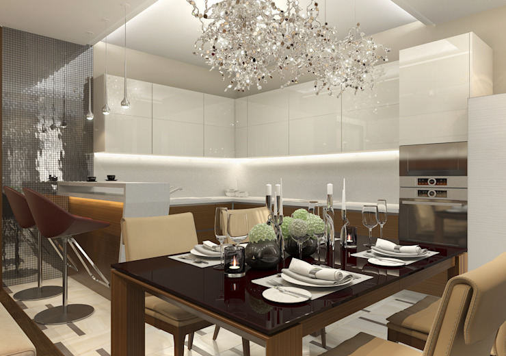 Modern dining room by Aledoconcept Modern