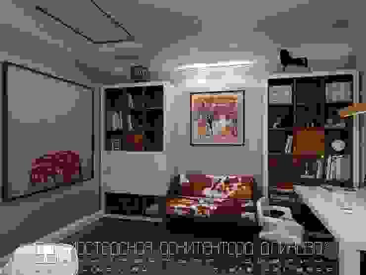 Интерьер дома во Владикавказе Рабочий кабинет в классическом стиле от Мастерская архитектора Аликова Классический